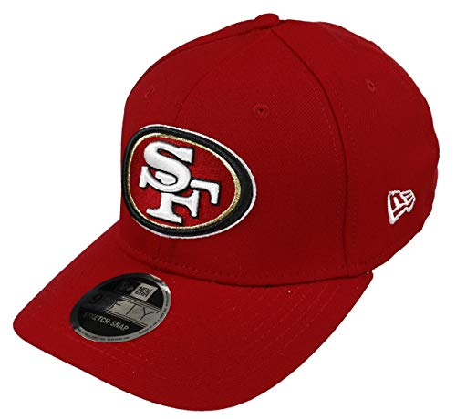 New Era San Francisco 49ers Cap Snapback Verstellbar 9fifty NFL Stretch In Rot - One-Size