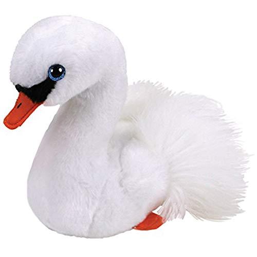 aolongwl Peluches 2020 Beanie Babies 6 cm Gracie El Cisne Blanco Felpa Regular Colección De Animales De Peluche Suave Muñeca De Juguete