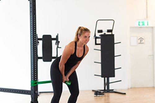 Premium Widerstandsbänder + Tasche und Übungsanleitung – Fitnessbänder - 5