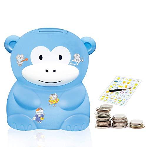 MOMMED Spardose, Zähler Sparschwein mit LCD Anzeige, Sparbüchse Automatische Münzzähl als Geburtstag & Weihnachten zum Geburtstag für Kinder Erwachsene.