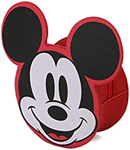 Karactermania Diseny Icons Mickey Mouse-Monedero Wide Monedero, 12 cm, Rojo