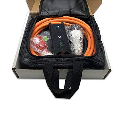 Tragbare Mobile Wallbox EVSE Ladegreät Ladestation   11KW   16A   3 Phasig   CEE 5 Pin zu Typ 2  7 Meter + Tragetasche - 9