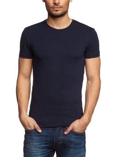 Garage Herren Shirt/ T-Shirt 201 - T-shirt R-neck bodyfit II, Gr. 52 (Herstellergröße: L), Blau (navy)