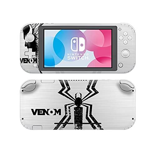 Spider Switch Lite Skin,Pegatinas de interruptor de anime,Protector de piel de vinilo para Nintendo Switch Lite