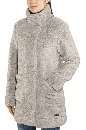 Bergans Oslo Wool Loosefit Veste Femme, Grey Mel Modèle XL 2020 Veste Polaire