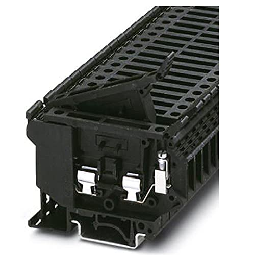 PHOENIX CONTACT PHOE Sicherungsklemme UK 5-HESI für Sicherungen 5x20mm, Schwarz