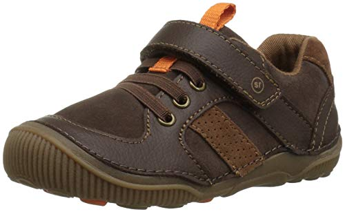 Stride Rite Boys' SRT Wes Casual Sneaker, Brown, 9.5 M US Toddler