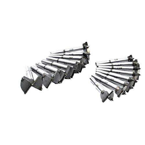 Woodworking Alloy Opener Professional Woodworking Flat-wing Bit Househeld Woodworking Tool Wood Cutter Bit Kit Home Accessory 16pcs 15-35mm
