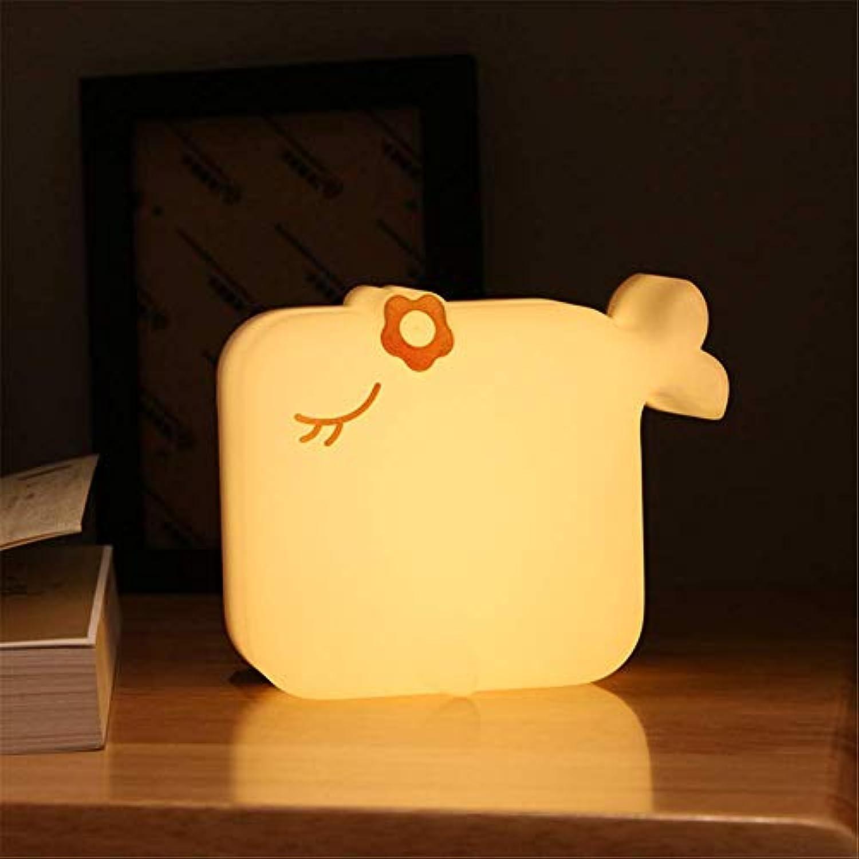 Dfttg Neue Aufnahmezeit Licht Nachricht Licht Meerjungfrau kreatives Licht schlankes minimalistisches Nachtlicht (Warmes gelb)