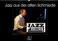 Jazz in der alten Schmiede Vol.3 (Wandkalender 2022 DIN A2 quer): Musikerportraets aus einem der renomiertesten Jazzclubs Deutschlands (Monatskalender, 14 Seiten )