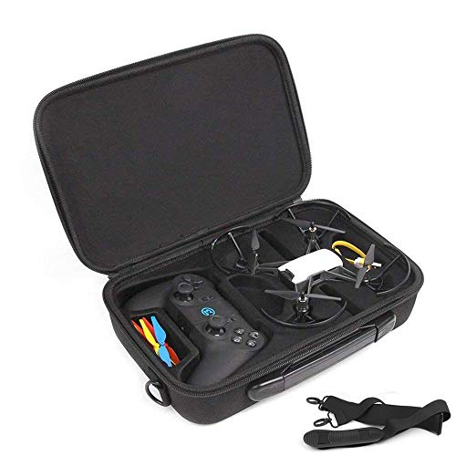 BonFook Tello Drone Carrying Case Shockproof Waterproof Portable Shoulder Bag Compatible with DJI Tello/Tello EDU Quadcopter Drone and Remote Controller