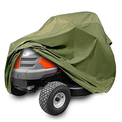 NICEWL Segadora Tractor Cubierta-Impermeable UV Protección,Accesorios para Herramientas Eléctricas Al Aire Libre, Almacenaje de La Cubierta de Poliéster 210D Oxford,Se Ajusta Cubiertas de hasta 44