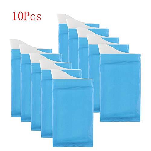 Winbang Tragbare Urinbeutel, 10 stücke Urinbeutel Einweg Outdoor Notfall Urinieren Taschen 600CC Mobile Toiletten für Kinder Frauen Männer