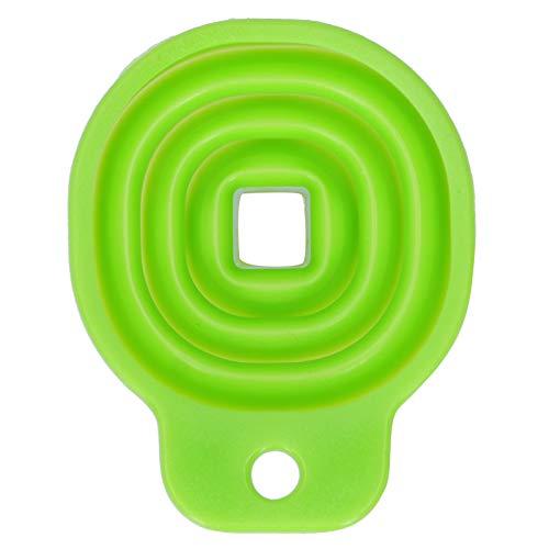 Embudo, embudo de cocina, embudo plegable, reutilizable para llenar botellas Fácil de usar Uso en la cocina