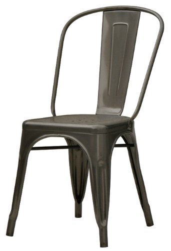 Tremendous Check Price Stella Metal Cafe Side Chair In Quot Gmtry Best Dining Table And Chair Ideas Images Gmtryco