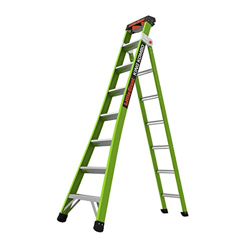 Little Giant King Kombo 8' A-Frame 14' Extension Fiberglass Ladder - $233.60