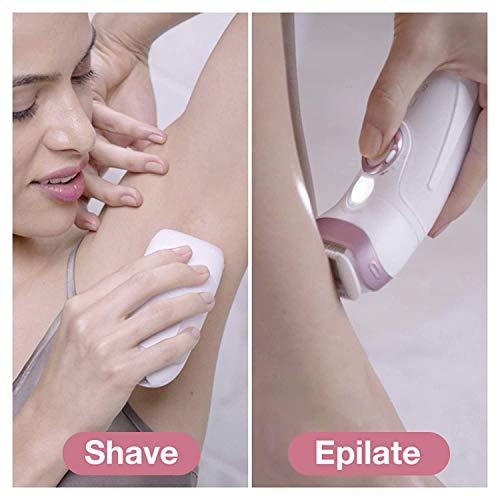 Braun Epilator for Women, Silk-Epil 9 9-985 Facial Hair Removal for Women, Facial Cleansing Brush, Womens Shaver, Wet & Dry, Cordless, beauty Kit & 7 extras