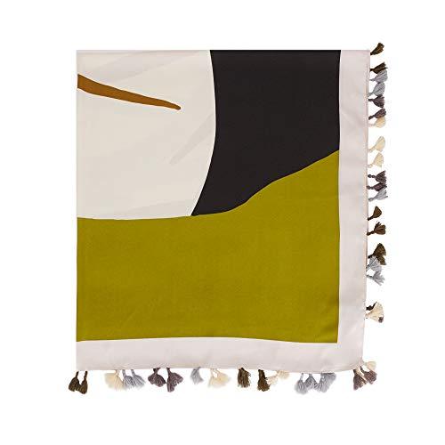 Parfois - Pañuelo Cuadrado Estampado - Mujeres - Tallas M - Verde
