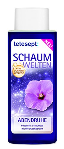 Tetesept Schaumwelten Abendruhe Schaumbad 400 ml, 5er Pack (5 x 400 ml)