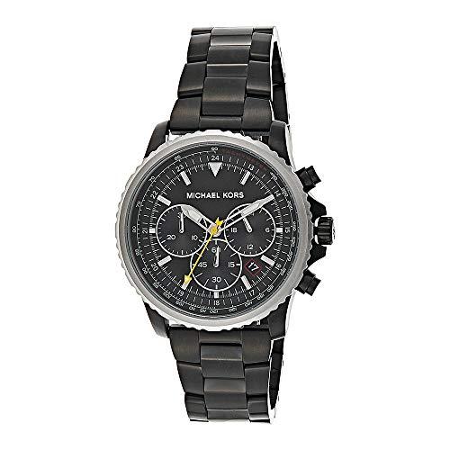 Michael Kors herenhorloge chronograaf kwarts horloge met roestvrij stalen armband MK8643