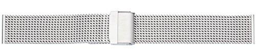 Eichmüller 22mm Edelstahl Milanaise Uhren Armband mit SI-Verschluss