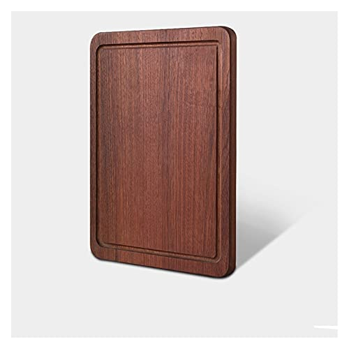 Tablero de corte de madera de ébano Tablero de corte de cocina 22 mm Tablero de corte de grosor for fruta de carne Accesorios de cocina de la cocina (Color : 30x20x2.2cm)