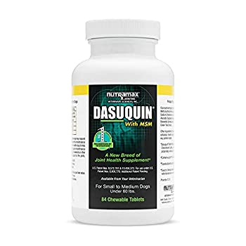 Dasuquin MSM Small/Med Dogs 84 Chewable Tablets