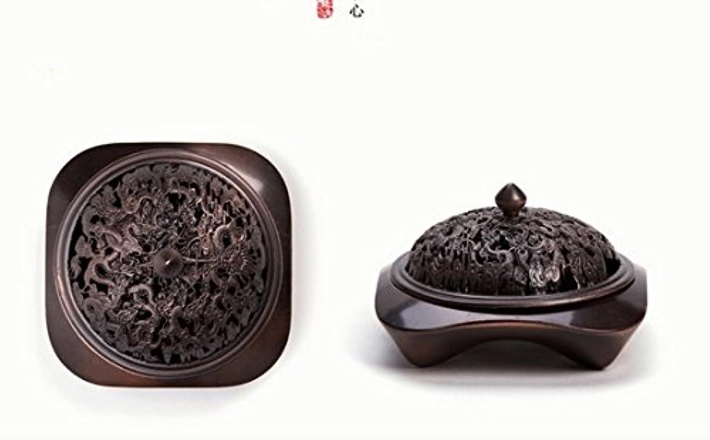 つま先魔術師【Lenni】アロマ香炉 タワー香つき 纯铜工芸カバー 沉香熏香炉
