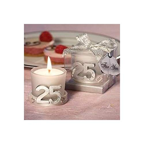 Vasara Vela 25 Aniversario en Caja de Regalo - Bodas de Plata