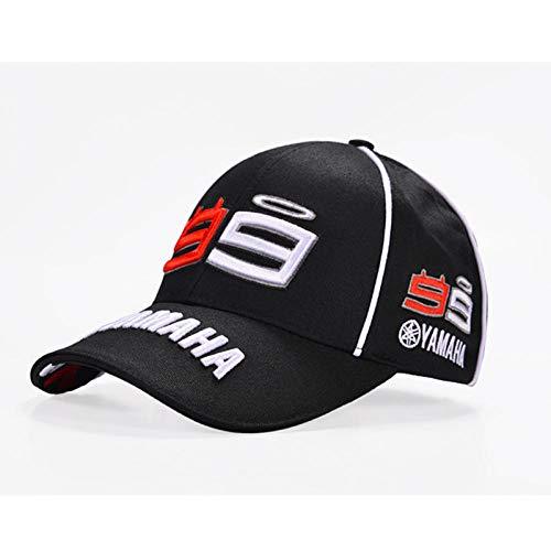 VGFTP® Jorge Lorenzo Herrenstickerei 99 Cap Motorradrennen Herren Baseball Cap Goa Sport Snapback Hüte