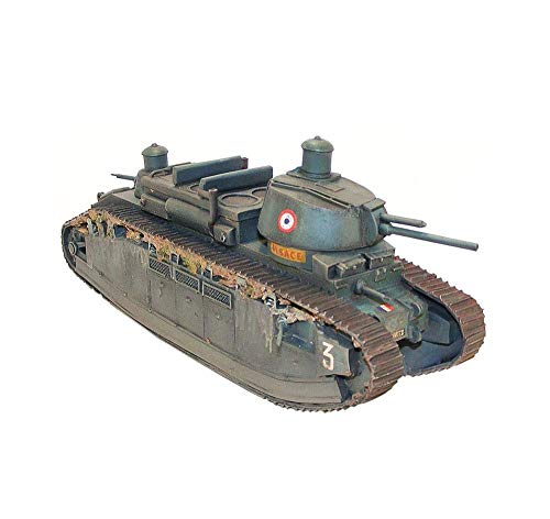 Military Tank Puzzle Model Kits, 1/35 French FCM Char 2C Heavy Tank Jigsaw Model, Children's Toys, 11.5 Inch X 4.5 Inch xuwuhz