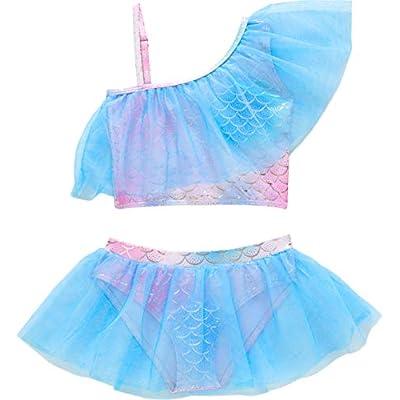 Loncoco Little Girls Summer Two Piece Soft Fash...