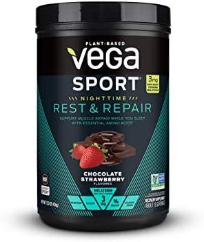 Vega Chocolate Strawberry Rest Repair Powder 15 OZ product image