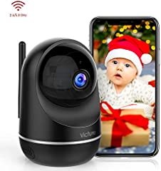 Victure Dualband 2.4Ghz and 5Ghz 1080P Pet WiFi Camera