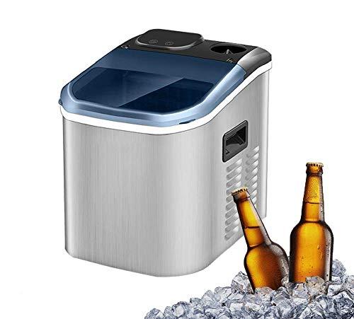 Fabricadora de hielo eléctrico comercial para el hogar de café en el...