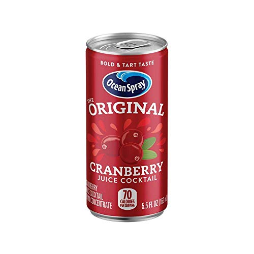 Ocean Spray Juice Drink, Cranberry Juice Cocktail, 5.5 Fl. Oz (Pack of 48)