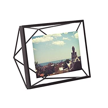 Umbra Prisma Picture Frame, 4 by 6-Inch, Black