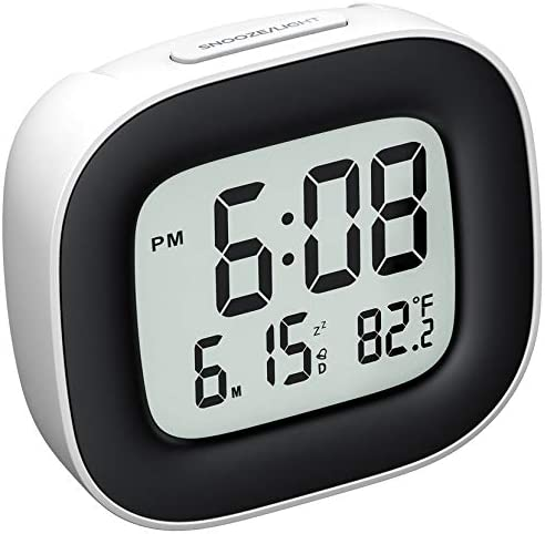 Mpow Travel Alarm Clock Digital Clock with Snooze Backlit Temperature Date Simple Basic Operation product image
