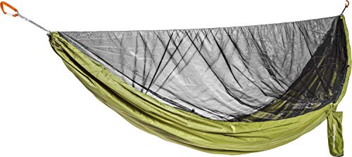 Cocoon Ultralight Mosquito Net Hammock, Single, Olive Green/Black