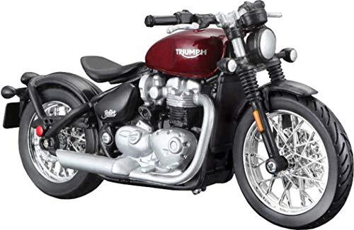 Bburago Triumph Bonville Bobber 1/18 schaalmodel motorfiets