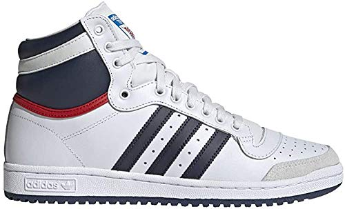 adidas Top Ten Hi, Herren Sneakers, Multicolor - Blanco/Azul/Rojo - Größe: 36
