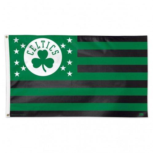 WinCraft NBA Boston Celtics Flag3'x5' Flag, Team Colors, One Size