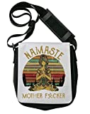 namase mother yoga borsa a tracolla unisex shoulder bag