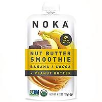 NOKA バナナココア ナッツバタースムージー 10パック [並行輸入品]
