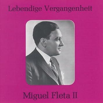 Lebendige Vergangenheit - Miguel Fleta (Vol.2)