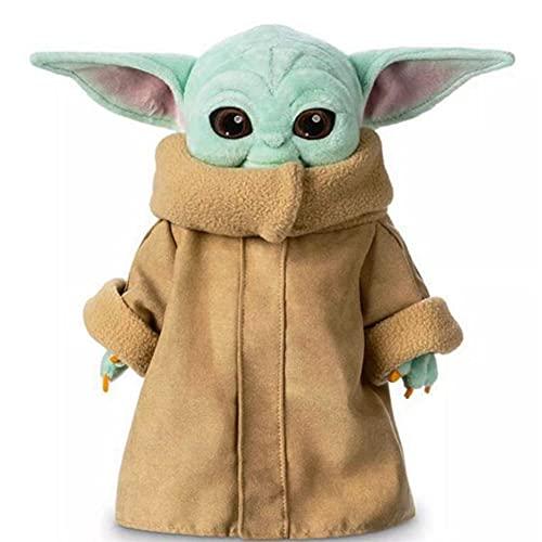 BESTZY Peluche De Star Wars para Bebé, Bebé Star Wars Muñeca De Peluche De Star Wars De Peluche Muñeca De Peluche para Niño, Baby Star Wars Plush Doll Toy, Regalo para Niños (25cm)