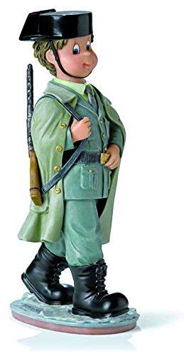 Nadal Figura Decorativa Guardia Civil pequeña, Resina, Multicolor, 4.00x6.00x15.00 cm