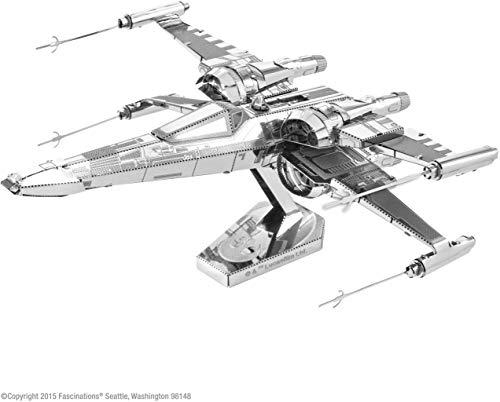 Fascinaciones - Vii Star Wars: X-Wing Kit de combate modelo 3D del Fuerza despierta la tierra del metal Poe Dameron , color/modelo surtido