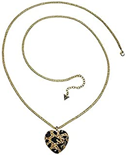 Guess Alloy Necklace for Women, Gold, UBN81193