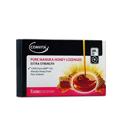 Comvita Pure Manuka Honey Lozenges - UMF 10+, MGO 263+ (Pack of 16...